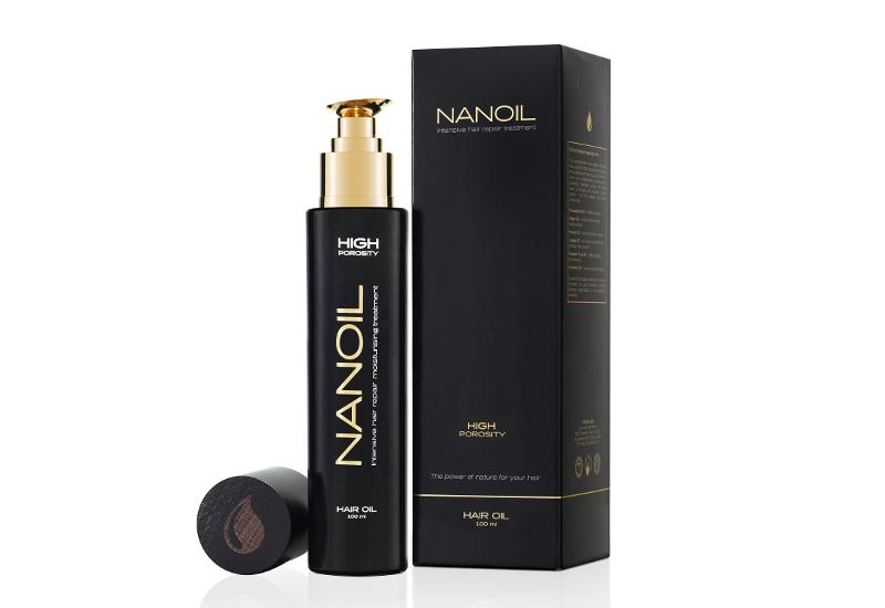 Olejek do włosów Nanoil – kompleksowa kuracja